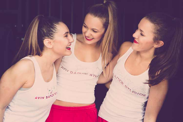Students at Aviv Dance Studios Harpenden