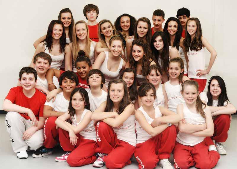 The Aviv Dance Studios' Performing Company members