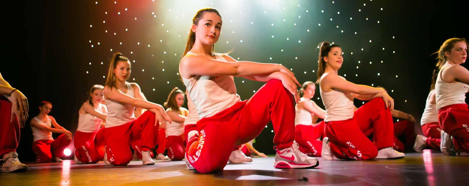 A dance performance at the Aviv Dance Studios' annual show