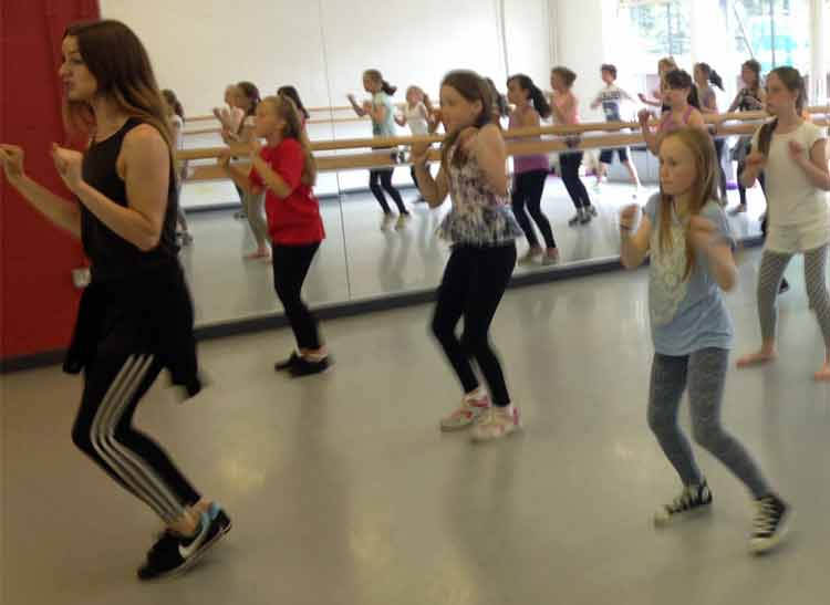 Aviv Dance Studios Summer School class