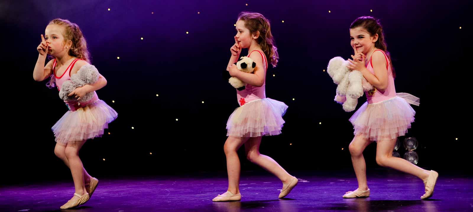 A kids ballet performance from the Aviv Dance Studios Annual Show