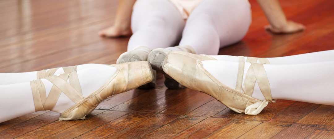 a ballet class