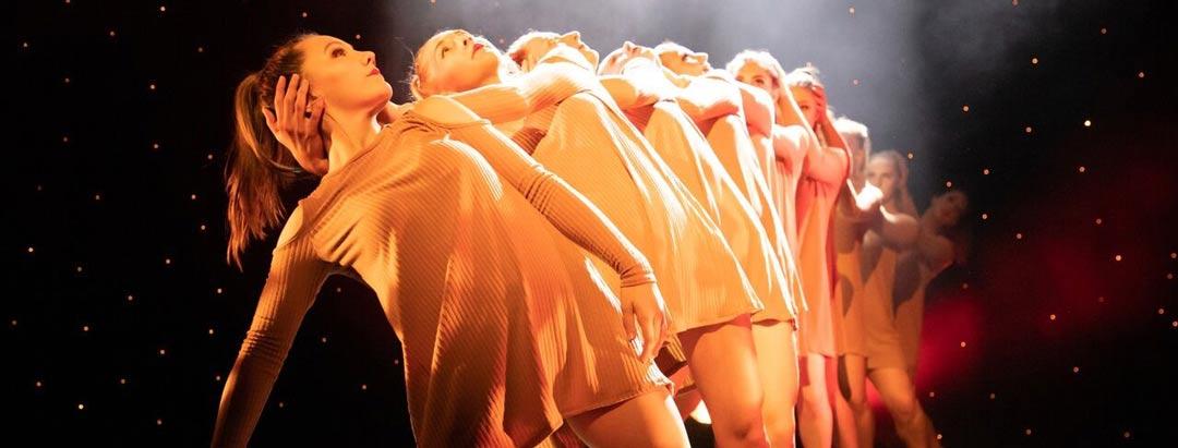 dancers at the Aviv Dance studios annual show